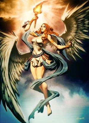 In Greek Mythology Nike Greek Nikh Meaning Victory Was A Goddess Who Personified Triumph T Nike Goddess Of Victory Nike Goddess Greek And Roman Mythology