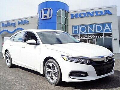 Ebay Advertisement 2019 Honda Accord Ex L 2019 Honda Accord Ex L 4 Miles Platinum White Pearl 4d Sedan 1 5t I4 D Honda Accord Honda Honda Accord Ex