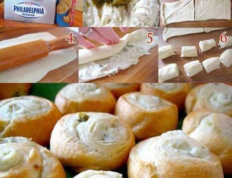 Jalapeno Cream Cheese Crescent Rolls