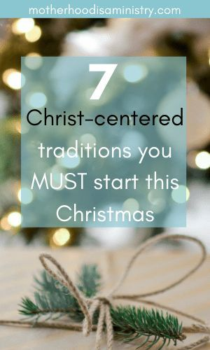 2020 Christmas Devotional How To Build Christmas Traditions That Focus On Jesus in 2020