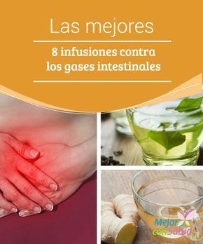 infusiones para evitar los gases intestinales