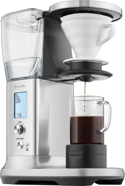 Breville The Precision Brewer Thermal 12 Cup Coffee Maker Brushed Stainless Steel Bdc450bss1bus1 Best Buy Thermal Coffee Maker Coffee Maker Coffee And Espresso Maker