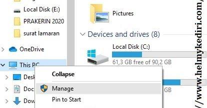 5 Cara Menyembunyikan Partisi Disk Diwindows Terbaru Decimal Windows