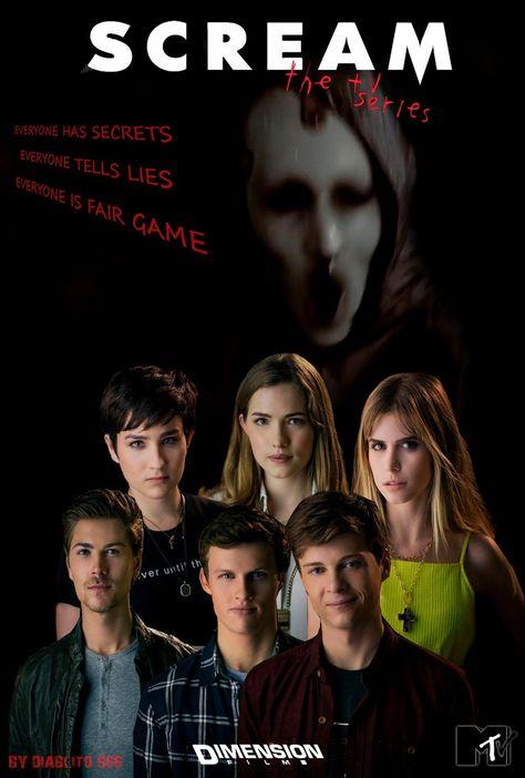 Scream The Tv Series Poster Fan By Diablito 666 by TibuBcN on DeviantArt