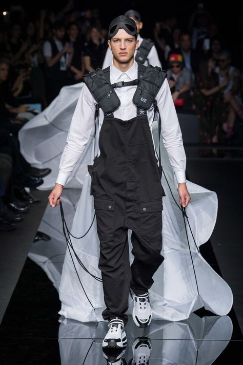 Emporio Armani Spring 2020 Menswear Fashion Show - Vogue