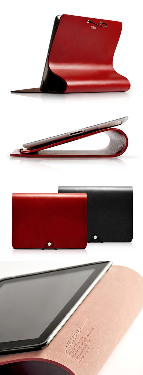 Evouni Leather Arc Cover For iPad 2 レザー leather