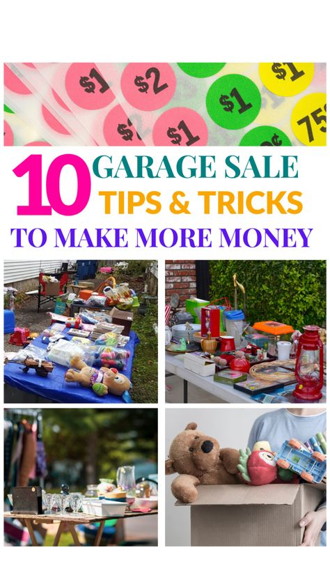 10 Tips for Garage Sale Success