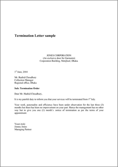 marlyn marie (marlyn_marie) on Pinterest - sample termination letters