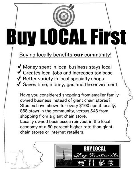 Buy Local Flyer