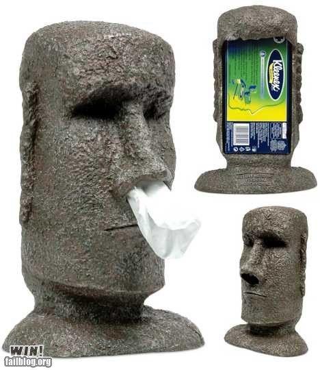 make a memorable tissue-box holder out of Hypertufa
