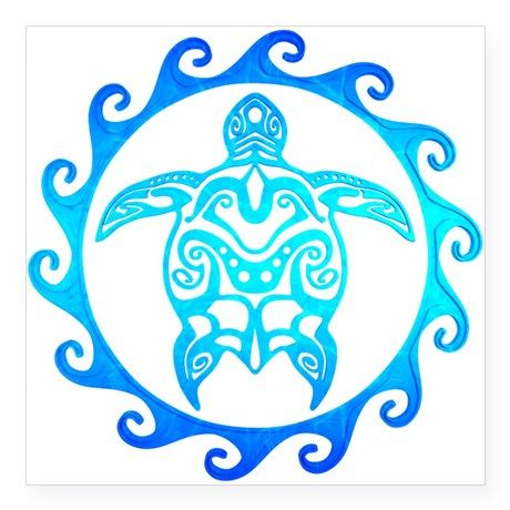 Blue tribal Polynesian tattoo style turtle design in the center of a Maori sun symbol. Tribal Turtle Tattoos, Turtle Tattoo Designs, Filipino Tribal Tattoos, Hawaiian Tribal Tattoos, Henna Tattoo Designs, Polynesian Tattoos, Maori Tattoos, Tattoo Ideas, Polynesian Art