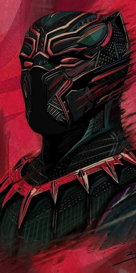 Wallpaper of black panther in 4K
