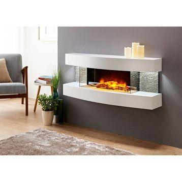 Cheminee Electrique Leroy Merlin En 2020 Avec Images Design Lounge Foyers Electriques Cheminee Electrique