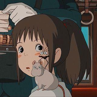 Chihiro Spirited Away Icon Chihiro Spirited Away Icon In 2020 Ghibli Artwork Studio Ghibli Background Studio Ghibli Art