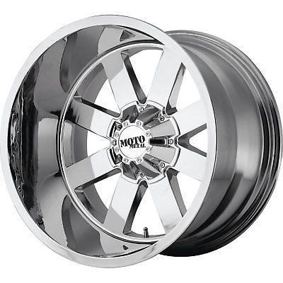 "24mm Black//Milled Wheel Rim 18/"" Inch Moto Metal MO962 18x10 8x6.5/"""