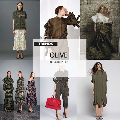 [ Trend Report ] Womens - Olive . Resort 2017
