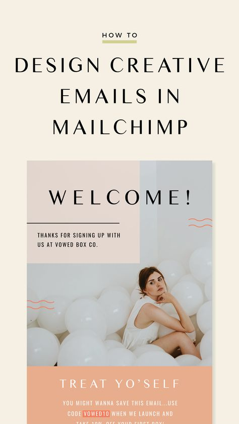 How To Design Creative MailChimp Emails  — Lindsay Scholz Studio   Creative Studio for Woman-Owned Businesses