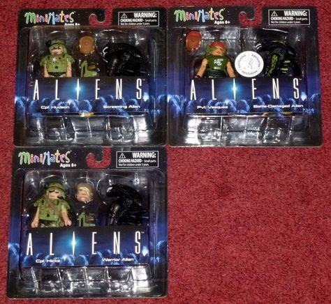 Aliens Minimates TRU Toys R Us Wave 1 Battle Damaged Alien