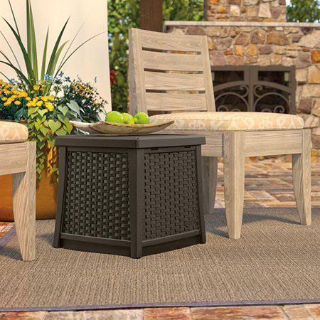 Patio Garden Patio Storage Outdoor End Tables Pool Patio