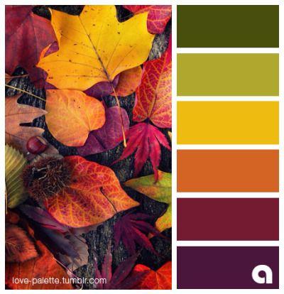Burgundy and Purples bold outlines Fall Color Schemes, Color Schemes Colour Palettes, Fall Color Palette, Colour Pallette, Color Combos, Fall Paint Colors, Color Balance, Design Seeds, Deco Design