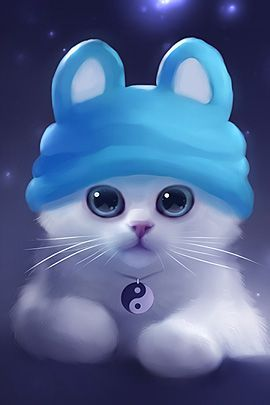40 Cute Animals Paintings by Rihards Donskis | The Design Inspiration #animals #kitten: