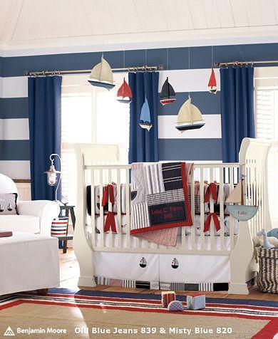 La Bebe Chambre Nautical Inspired Rooms Deco Chambre Bebe