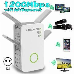 Wireless Wi Fi 802 11n 1200mbps 2 4g Firewall Router Repeater