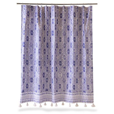 Home Star Shower Shower Curtain Curtains
