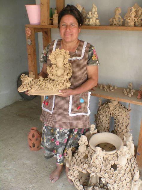 Clay Jaguar Chiapas   Maya, Beeldhouwkunst, Cultuur