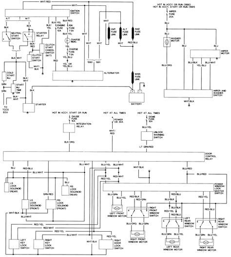 1993 toyota hilux wiring diagram  toyota hilux electrical