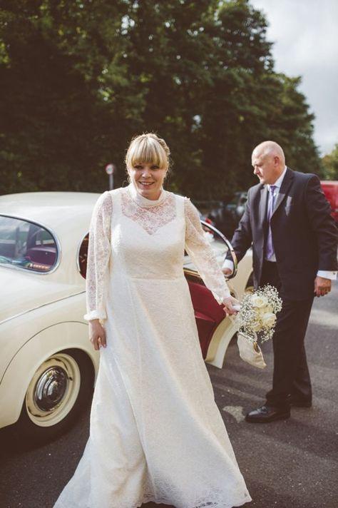 A Handmade, DIY, 60's Retro Style Village Hall Wedding
