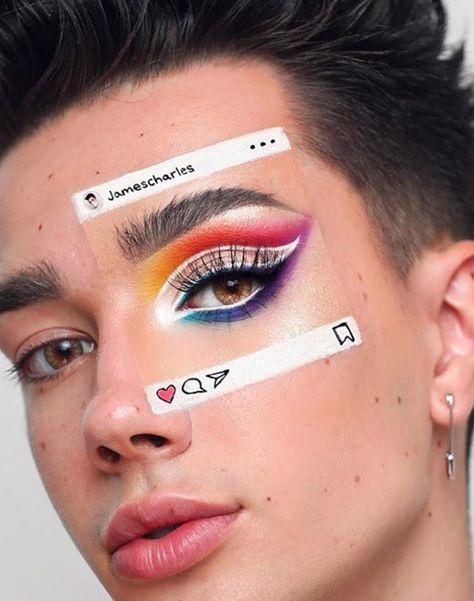 MAKE ARTÍSTICA.  Lindas makes inspiração.   #make #makeartistica #maquiagem #arte #face #beautiful #inspiração