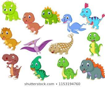 Cute Baby Dinosaurs Collection Dinosaurios Para Bebe