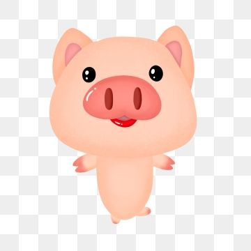 Year Of The Pig Little Pig Lovely Cartoon Animal Hand Painted Whole Body Png Transparent Clipart Image And Psd File For Free Download Year Of The Pig Little Pigs New Year