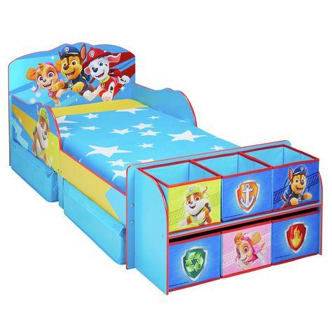 Blue Paw Patrol Cube Toddler Bed Frame