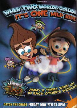 Jimmy Timmy Power Hour : jimmy, timmy, power, Jimmy, Timmy, Power, Poster, Dlee1293847, Neutron,, Jimmy,, Nickelodeon