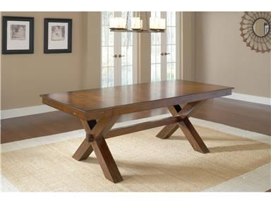 Shop For Hillsdale Furniture Park Avenue Trestle Table, 4692DTB, And Other  Dining Room Dining