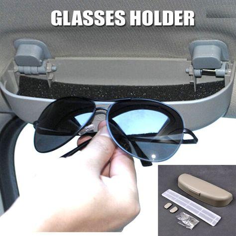 Sunglasses Holder Glasses Case Cage Clip Storage Box Fit For 15-Jeep Renegade BU