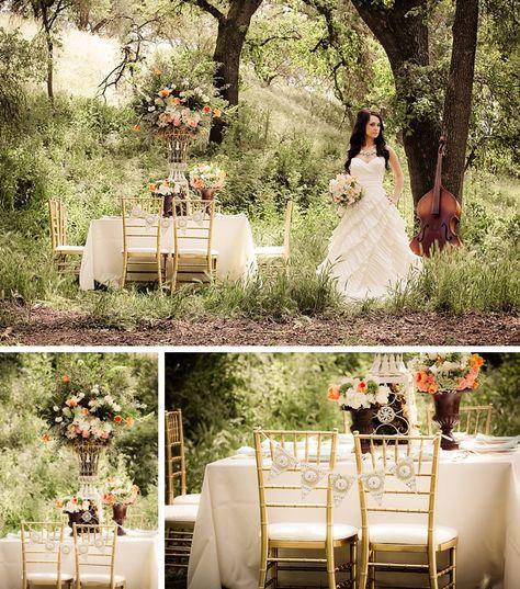 Budget Vintage Romantic Wedding Inspiration by Jamie Bearg Photography