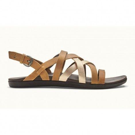 OluKai Awe Awe sandalen dames sahara bubbly | Sapatos