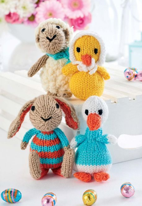Alan Dart Knitting Pattern for Mother Hen And Her Chicks