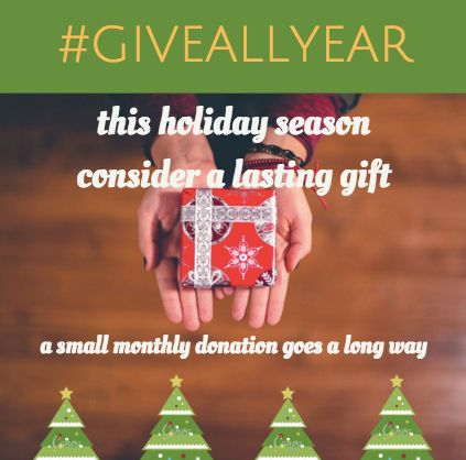 Giveallyear This Holiday Season Consider Giving A Lasting Gift To