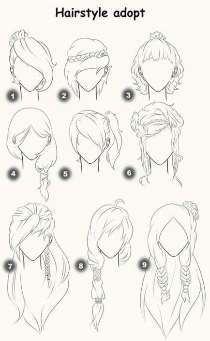 42 Ideas Hair Drawing Back View Anime Girls For 2019 Drawing Hair Tutorial How To Draw Hair Hair Sketch