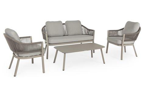 Sedie In Alluminio E Legno.Una Struttura In Alluminio Con Cuscini Idrorepellenti E