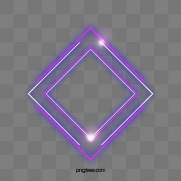 Diamond Multilayer Neon Effective Geometric Border Luminous Efficiency Geometric Creative Png Transparent Clipart Image And Psd File For Free Download Clip Art Neon Geometric