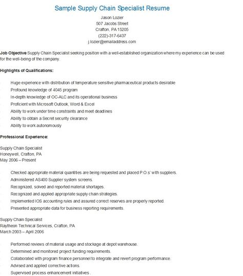 Accountant Cum Office Administator Resume Resume   Job Pinterest - supply chain resumes