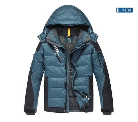 Men's Sports down coat warm RLX down jacket Men high quality