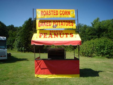 Portable Concession Tent | Food Stand Business Ideas