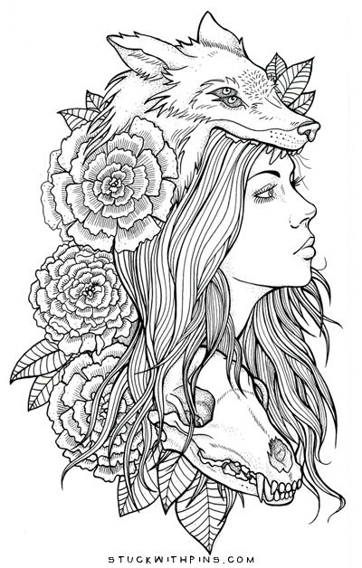 Necromance Current work-in-progress All hand drawn on sketch paper with Staedtler pigment liners —- I'm planning on digitally coloring this and possibly selling some prints. Maybeee…
