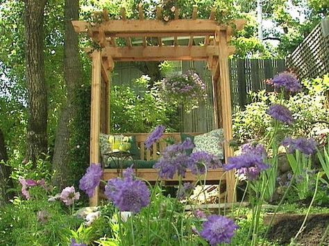 How to Build a Bench for Your Garden : Archive : Home & Garden Television
